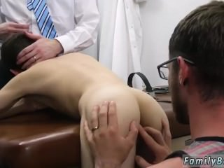 Daddy hurts gay twinks ass Doctor's Office