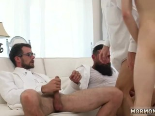 Naked young boys giving blowjobs and gay porn kiss Elders Garrett
