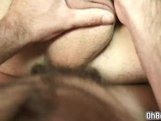 Hairy twinks blowjob and fucks hard anal
